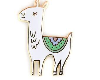 Llama, Enamel Pin