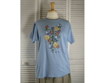 ON SALE S/S Special Tees - Natural Organic Cotton medium  Ready to Ship