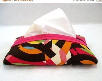 Flash Sale Tissue Holder Circles Crazy Pocket Travel Size