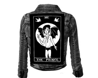 RIP Prince of Darkness Large Back Patch