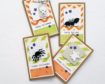 CLEARANCE Super Cute Halloween Sampler Mini Cards or Tags,