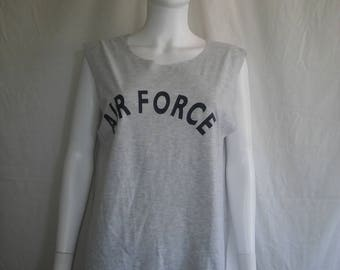 AIR Force t shirts, Military grey t shirt tank top