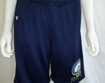 Closing Shop 40%off SALE UCD  University California Davis College Lacrosse shorts size Small