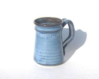 Stoneware Coffee Mug - Pacifica Blue Glaze