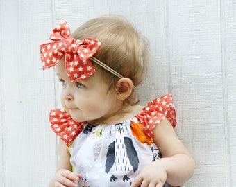 Baby Witch Hat - Baby Halloween Hat - Girls Halloween Bow - Toddler Bow - Toddler Witch Hat- Baby Hat - Girls Hat - Orange Bow - Purple