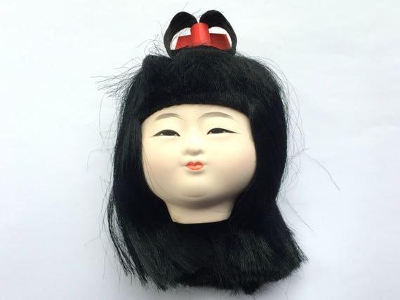 Kawaii Japanese Doll Head Ichimatsu Doll Body Part D15-10 Girl Head