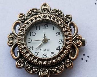 Watch Face Antiqued copper