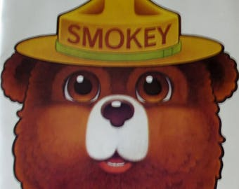 Smokey Bear - Play Booklet -Paper Mask-  One Act Play -  Smokey Bear Friends - Animal Mask -  Waldorf -