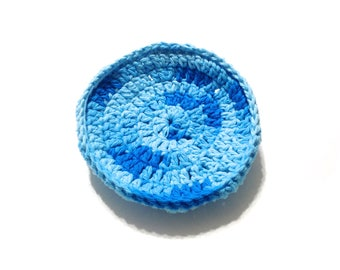 Swimming Pool Crocheted Cotton And Nylon Netting Dish Scrubbie- Large