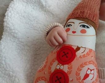Nellie Peach Gnome