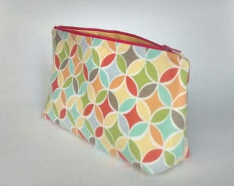 Pastel loops - Zippered Pouch