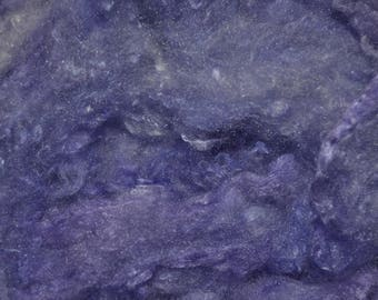 Hand Dyed Mulberry Silk Clouds ~ Lavender