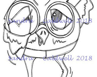 2052 Love Bird Digi Stamp