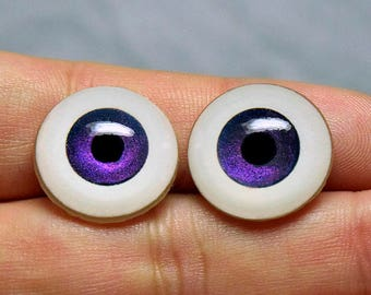 Doll eyes 18mm AD SM shifting color Purple
