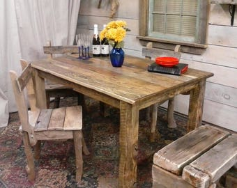 """Driftwood Table (54"""" x 34"""" x 30""""H) Custom Request New pictures soon"""