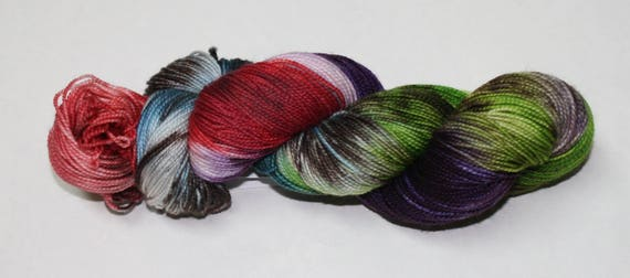 Diagon Alley Hand Dyed Sock Yarn