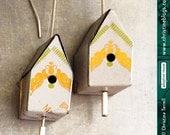 Teeny Birdhouses -- Upcyc...