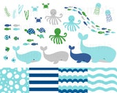 Nautical Under The Sea Cl...