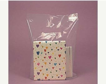 Summer Sale 100 Pack 9X12 Inch Clear Handle Merchandise Retail Bags