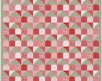 Project Red Quilt Kit (KIT5680) -  by Sweetwater