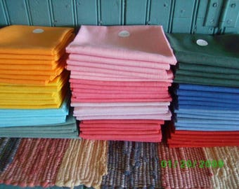 Vintage  Solid Color Floursack   Quilting/Vintage Quilt Repair Lilac