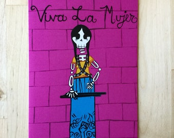 Day of the dead notecard