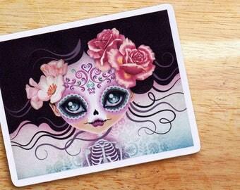 Camila Huesitos Sugar Skull Die-cut Vinyl Sticker Decal