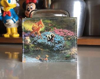 Bambi Disneyland Map Mini Wallet