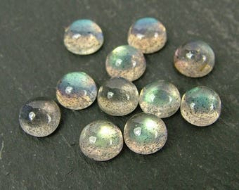 Labradorite Round Cabochon Gemstone ~ Various Sizes