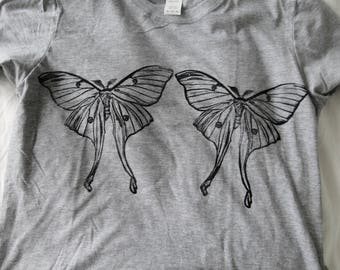 Mens Luna Moth Tee