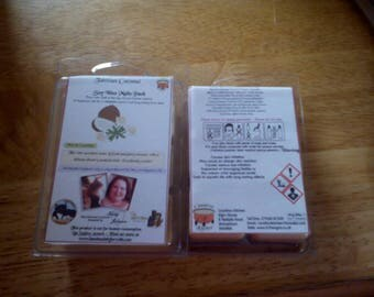 Tahitian Coconut Scented Soy Wax Melts Pack