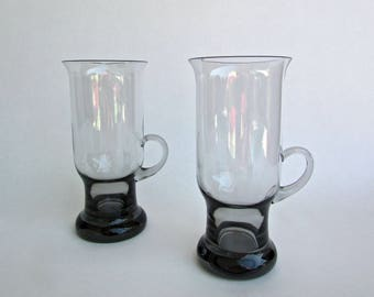 Frank Thrower Dartington-Wedgwood Glass, Seamus Irish Coffee Glass in Midnight
