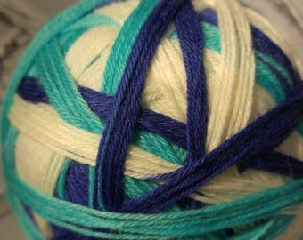 Ripcurl self striping sock yarn