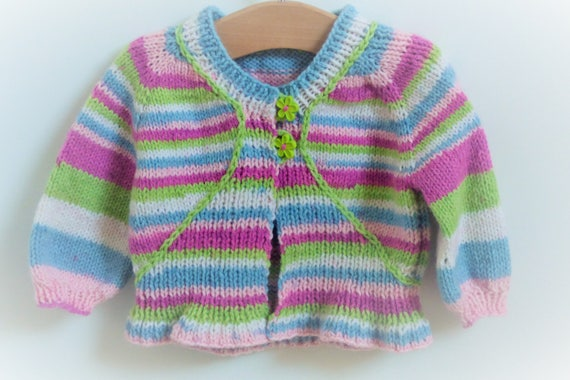 Knitting Pattern Cardigan Jacket Sweater Top Down Seamless for