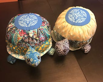 "12"" Tortoise or Turtle Toy in u- pick Colors"