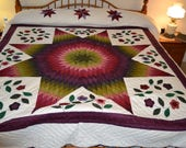 Amish Improved Lone Star Lg Queen/King quilt