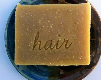 Amber Shampoo Bar by Aquarian Bath - Plastic Free - Zero Waste - No Waste November - Vegan - SLS free - No palm oil