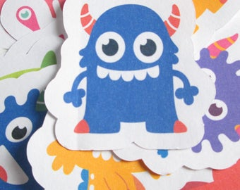 Monster stickers