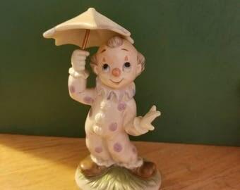 1986 Lefton clown figurine