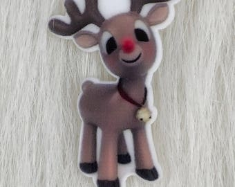 Rudolph The Red Nosed Reindeer Pin