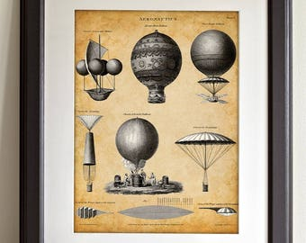 Aeronautics - 11x14 Unframed Patent Print - Great Gift for Pilots