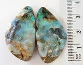 Natural Split Pair, Australian Boulder Opal - Item 1906174
