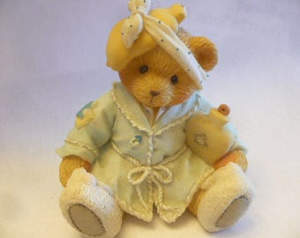 Cherished Teddies, Kiss the Hurt and Make it Well, 1994, Enesco,Registered, No Box, Excellent Condition, Teddy Bear Figurines, Vintage Teddy