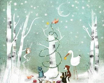 10% Off - Summer SALE An Enchanted Christmas - Deluxe Edition Print