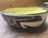Yellow Sun Small Bowl