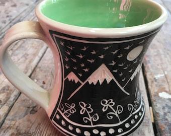 The Mountains Are Calling Mug