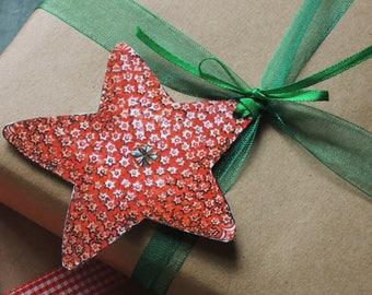 Sea Star Holiday Set of 8 gift tags hostess gift