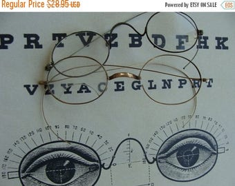 ONSALE LQQK Antique Spectacles Over 100 years old Lot N09