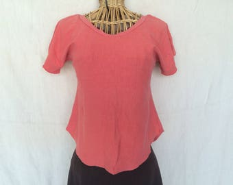 Aura Tee/ hemp and organic cotton ladies shirt