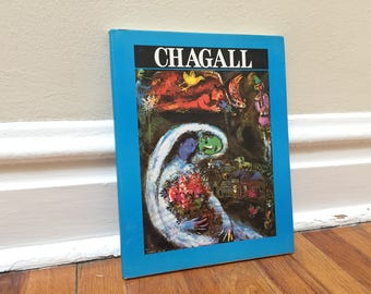 Marc Chagall Art Book Vintage Hardcover Coffee Table Decor
